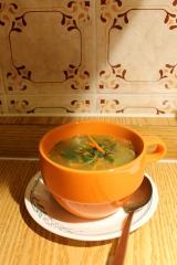 Soupe réconfortante auxlentilles