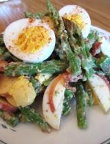 Salade d'Asperge Crémeuse auBacon