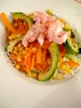 Salade de Vermicelle et deCrevette