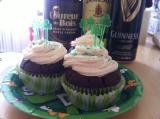 Cupcake de laSt-Patrick